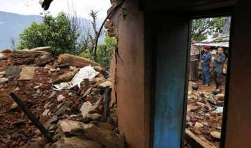 only four killed in nepal quake epicentre lamjung...