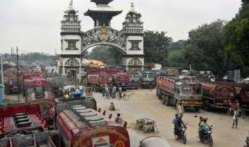 nepal gets respite as cargo trucks enter from...