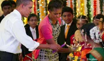 lawmaker asks obama to support diwali postal...
