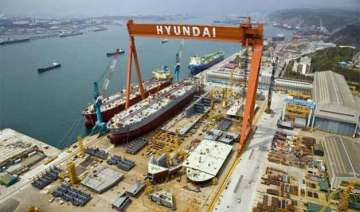 modi to visit hyundai shipyard - India TV