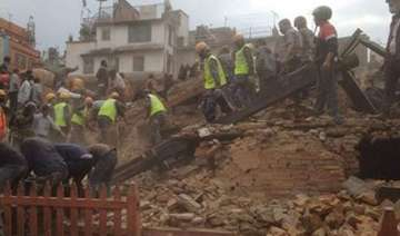 nepal earthquake teenager cousin have miraculous...