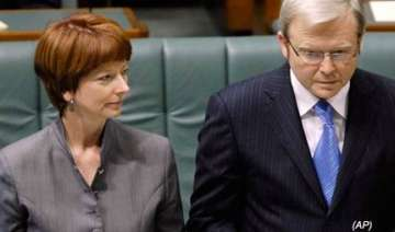 julia gillard becomes australia s first woman...