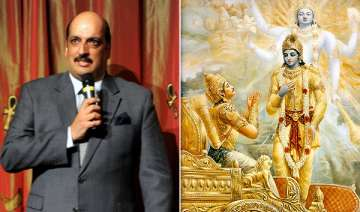 india takes up gita issue with russian...