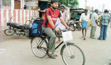 indian cyclist reaches qatar on 200 000 km trip -...