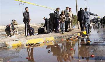 iraq suicide bomber kills 50 at pilgrimage climax...
