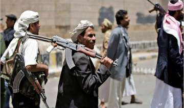 yemeni planes carry out airstrikes on town seized...