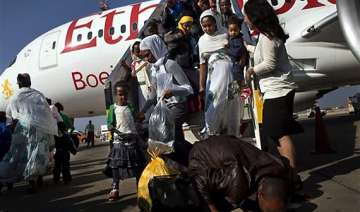 israel airlifts 450 ethiopians to the jewish...