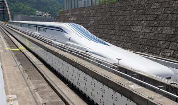 japan tests its 500 kmph floating bullet train -...