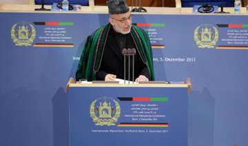 karzai will try to hold on to power beyond 2014...