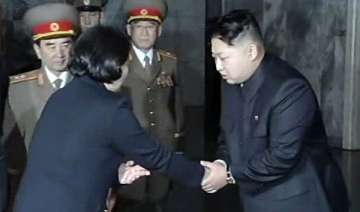 kim jong un meets south korean delegation - India...