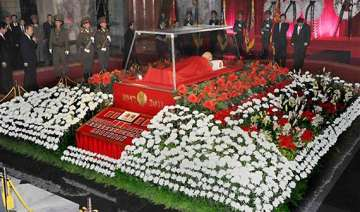 kim jong il now in hell with stalin john mccain -...