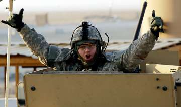 last us troops leave iraq as war ends - India TV