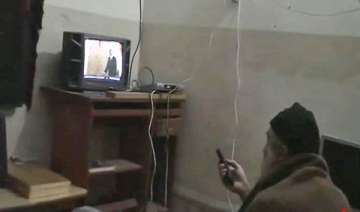 locals claim laden watching tv in pic is the...