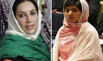 malala describes benazir her icon want to become...