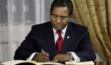 maldivian president launches his campaign for...