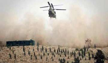 nato helicopter attacks pak army post - India TV