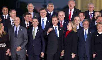 nato ministers meet on libya as air strikes...