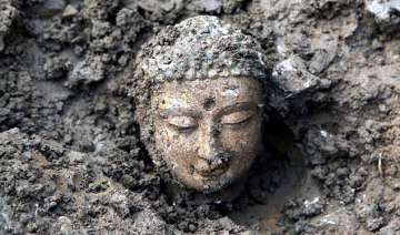 nearly 3 000 ancient buddha statues unearthed in...