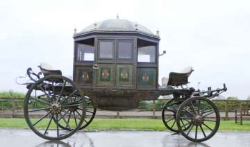 nearly 200 year old indian royal carriage to be...
