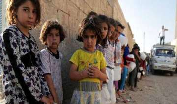 over five million kids affected by syria conflict...