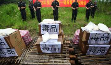 over 250 held for drug trafficking in china -...