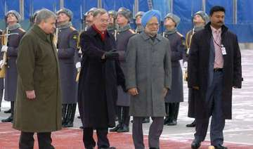 pm arrives in moscow on a three day visit - India...