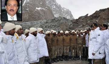 pak will never withdraw army from siachen...