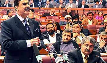 pakistan parliament approves resolution on us...