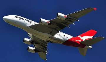 passengers injured after qantas plane hits...