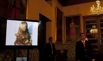 peru officials seize 700 year old mummy being...