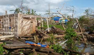 philippine storm spares capital but strands many...