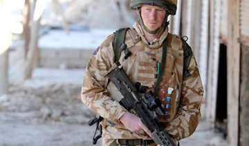 prince harry says he is returning to afghanistan...