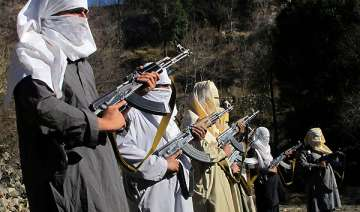 rare video of taliban fighters who rule large...
