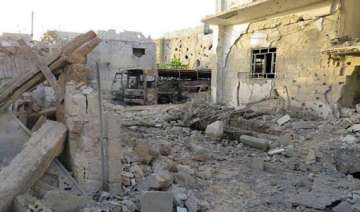 red cross barred from syrian towns - India TV