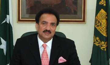 rehman malik appointed advisor to pak pm - India...