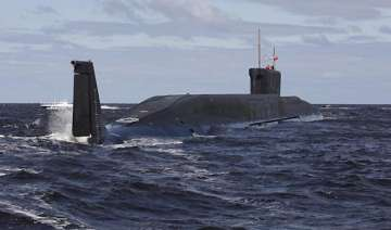 russia s tests new nuclear submarine - India TV