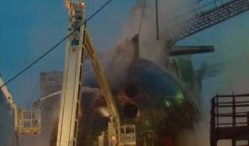 russian submarine fire contained authorities...