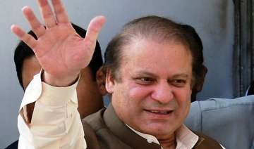 sharif to be sworn in as pm tomorrow - India TV