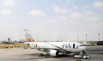 shots fired at plane landing in peshawar 1 killed...