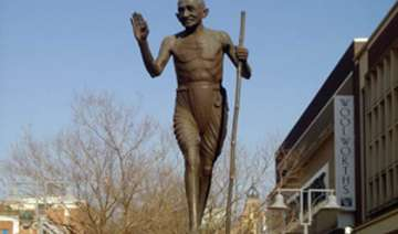 south african town gets first gandhi statue -...