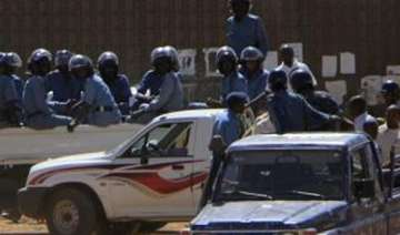 sudan police uses tear gas to disperse protest -...