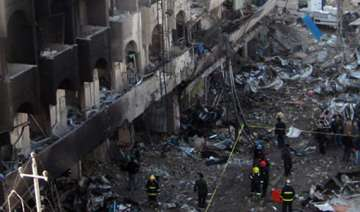 suicide bomber kills 6 at checkpoint leading to...
