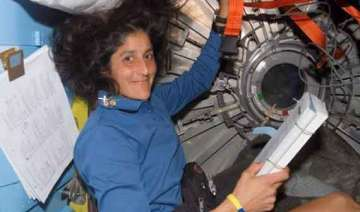sunita willams returns from space with new record...