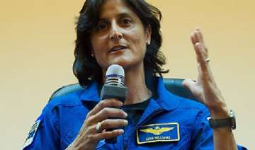 sunita williams voted before flying to her home...