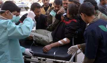 syrian opposition claims poisonous gas attack -...