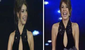 tv presenter in turkey fired for showing cleavage...