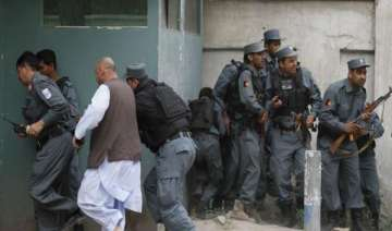 taliban clash with afghan police at security post...