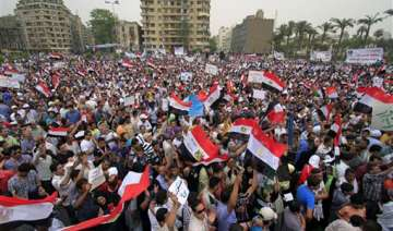 thousands flock to tahrir square for second...