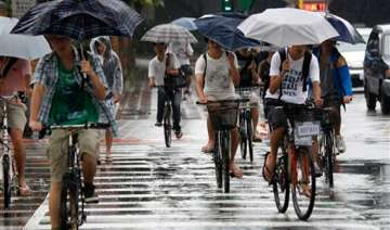tropical storm causes landslides in taiwan -...
