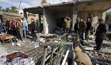 syria twin suicide bombs shake capital 40 dead -...